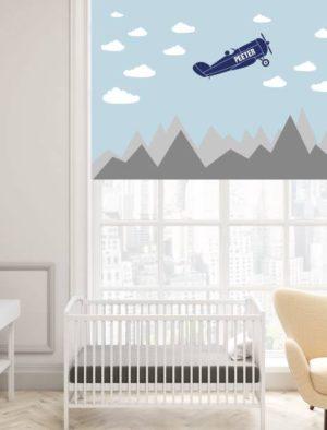 Omanimeline lennuk pilvedes