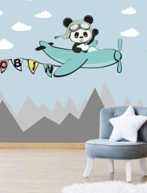 Lendav Panda