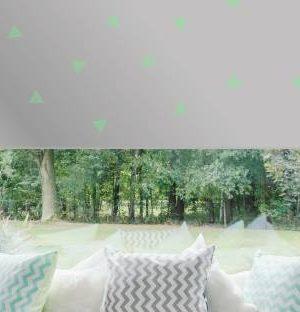 Väikesed kolmnurgad roheline