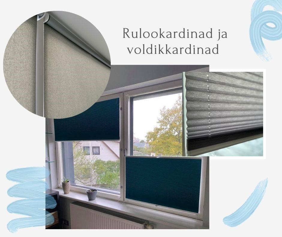 Rulood ja voldikkardinad - Duoprint