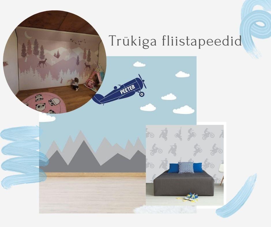 Trükiga fliistapeedid - Duoprint